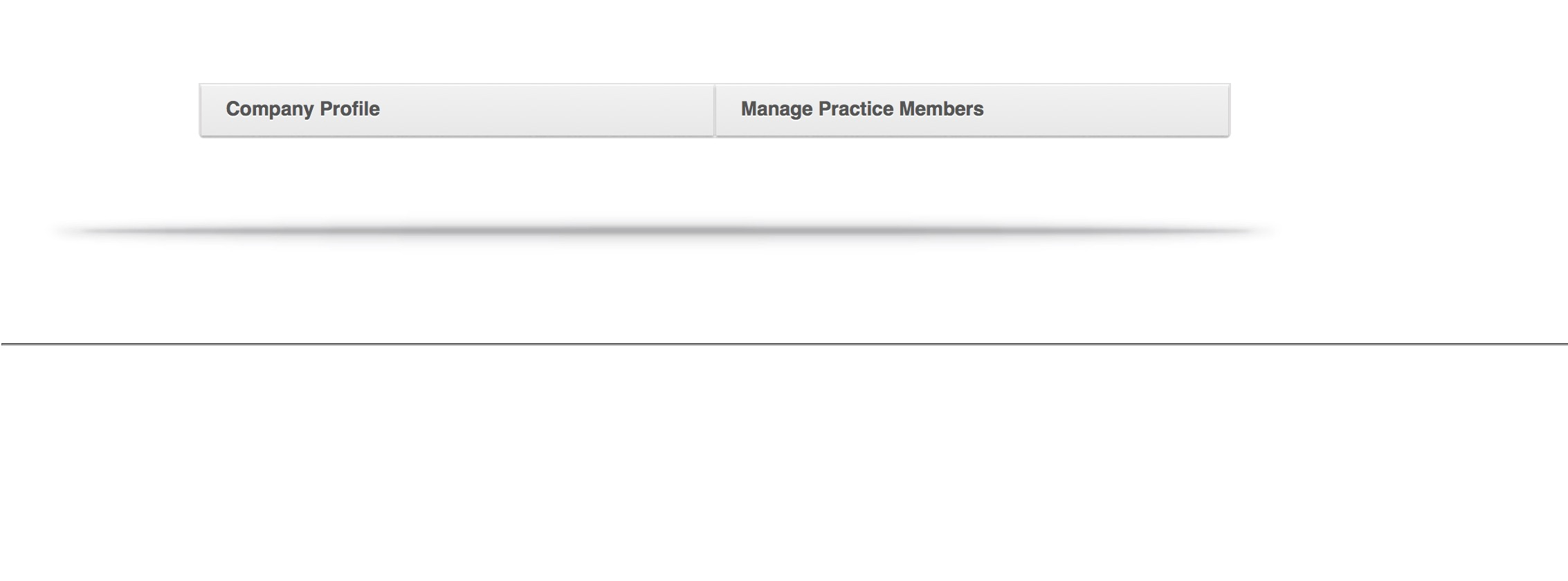 VetFolio Manage Practice Members Screenshot